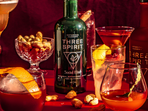 Igniting The Spark with Three Spirit Drinks