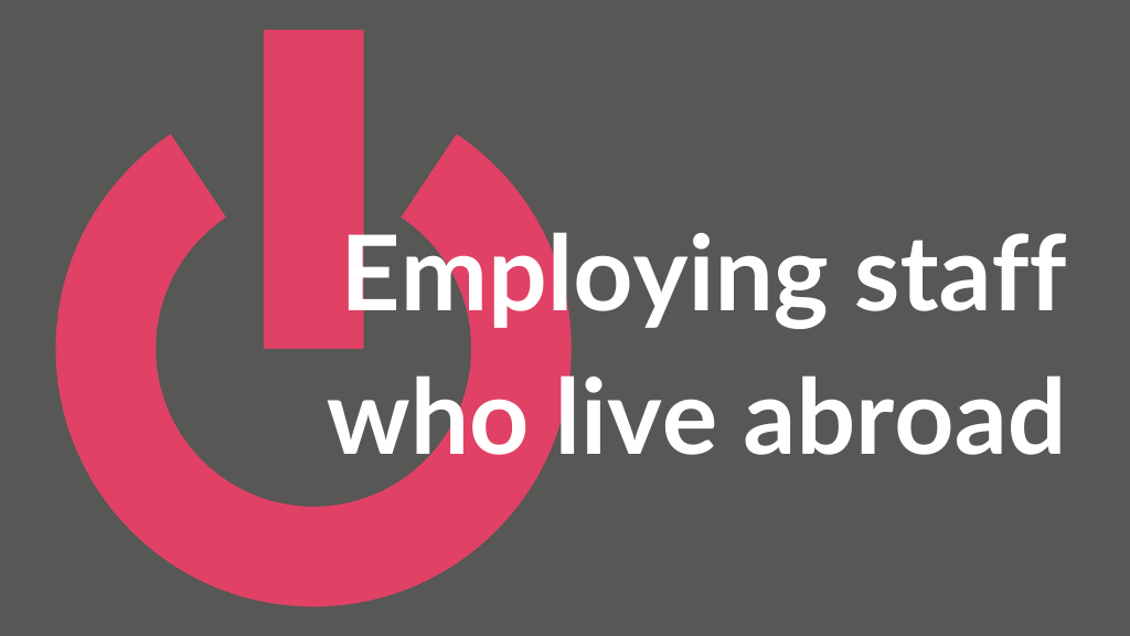 Employing staff abroad | Ignition Law