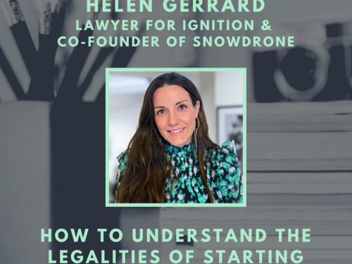 How to Start Up Podcast with Helen Gerrard