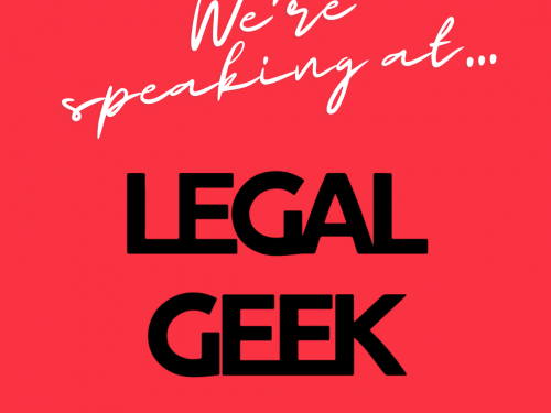 Ignition at Legal Geek Conference